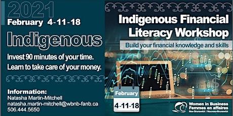 Indigenous Financial Literacy Workshop 3-Part Series tickets