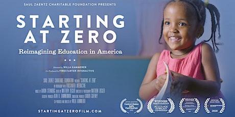 Starting at Zero Documentary Screening with United Way tickets