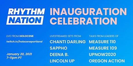 Rhythm Nation Inauguration Celebration tickets