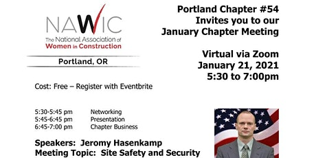 NAWIC Portland - January Chapter Meeting tickets