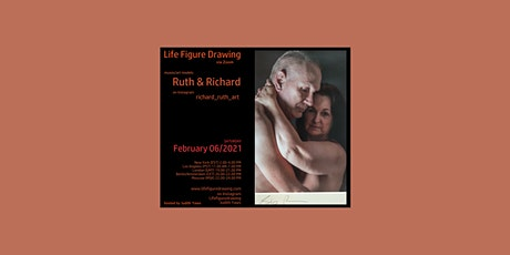 Life Figure Drawing via Zoom - with Ruth and Richard tickets