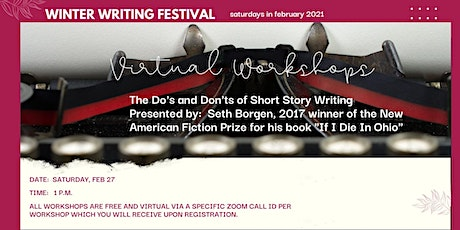 A Virtual Winter Writing Festival:The Do's and Don't of Short Story Writing tickets