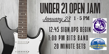 Under 21 Open Jam @ Big Ash! tickets