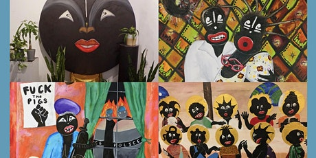 """Black Face Black Power"" A Solo Exhibition and Artist Talk by Mark West tickets"