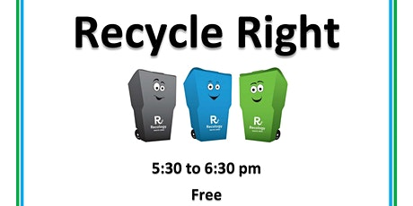 Recycle Right tickets