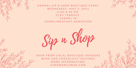 Annual Spring Sip n Shop Boutique Event tickets