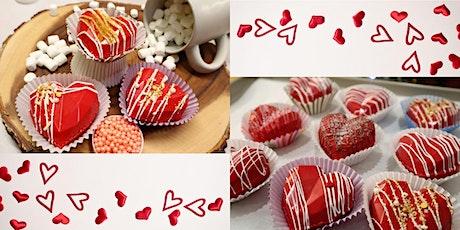 Valentines Cocoa Bomb Class tickets