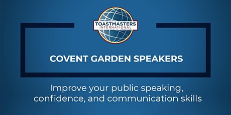 Toastmasters Public Speaking Meeting tickets