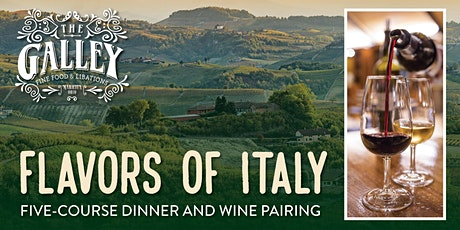 Flavors of Italy  / Five-Course Dinner and Wine Pairing tickets