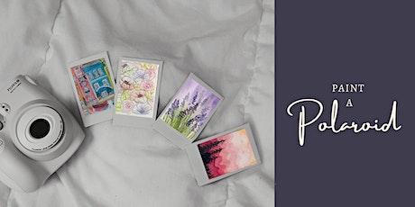 Paint a Polaroid: TBD tickets