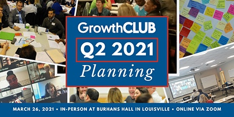 GrowthCLUB Strategic Planning  *HYBRID EVENT*  In-person & Virtual tickets tickets
