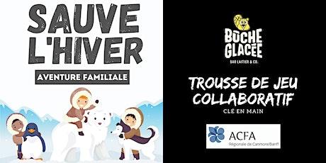 Sauve l'hiver - Jeu familial Collaboratif CLÉ EN MAIN billets