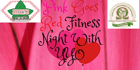 Pink Goes Red Fitness Night With YYO tickets