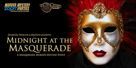 Midnight at the Masquerade, A Murder Mystery Event Fundraiser tickets
