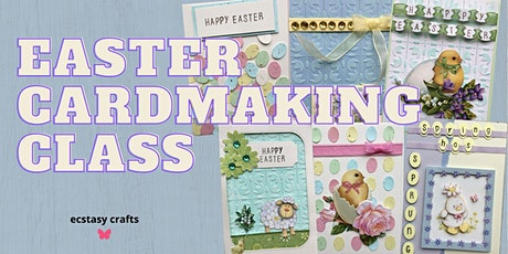 Virtual Cardmaking Class Easter Session 1 tickets