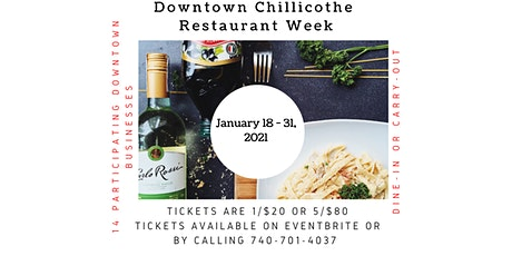 Downtown Chillicothe Restaurant Week tickets