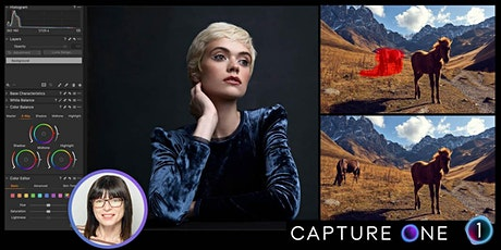 Capture One Essential Workflow with Natasha Calzatti - Live Online tickets