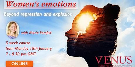 Women's emotions tickets