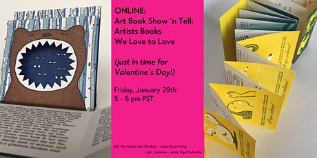 Art Book Show 'n Tell: Artists Books We Love to Love! tickets