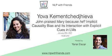 NLP With Friends, featured friend: Yova Kementchedjhieva tickets