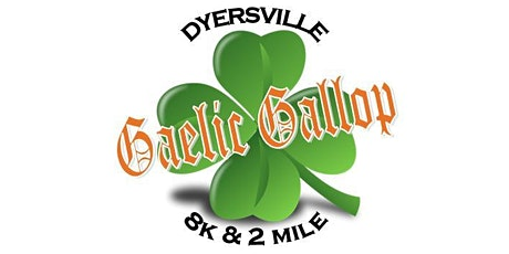 40th Annual Gaelic Gallop St. Patrick's Day Race - 8K & 2 Mile Run/Walk tickets