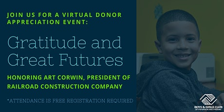Gratitude and Great Futures: Donor Appreciation Event tickets