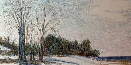 Nature Drawing at Blithewold: April 29: Textures and colors in spring tickets