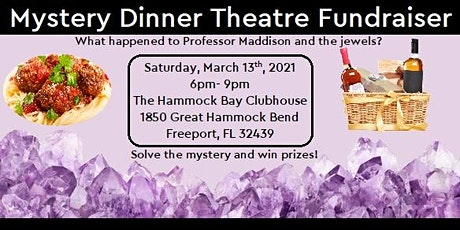 Mystery Dinner Theatre Fundraiser tickets