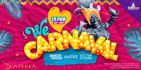 We Love Carnaval (Brazilian Carnaval 2021) Day Party tickets