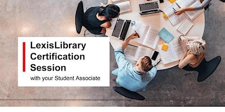 LexisNexis Postgraduate Basic Certification Sessions tickets