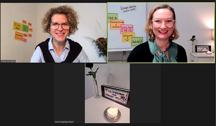Online-Moderation für Führungskräfte - Interaktiver Schnupper Workshop: Bild