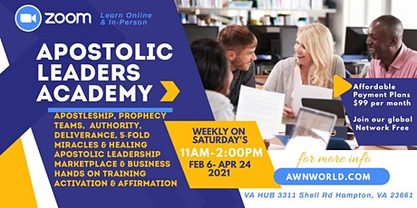 Apostolic/Prophetic (Leaders Academy) tickets