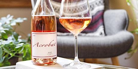 Virtual Vino Vinyasa featuring Acrobat Wines tickets
