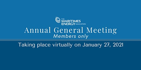 The MEA Annual General Meeting tickets