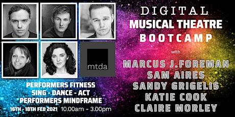 mtda Musical Theatre DIGITAL BOOTCAMP tickets