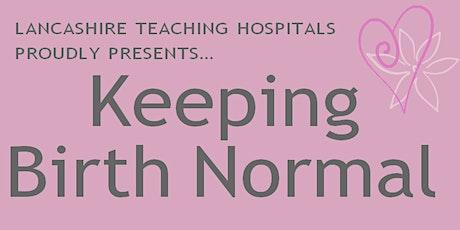 Poplar Midwives Virtual Parentcraft Sessions Lancashire Teaching Hospital tickets