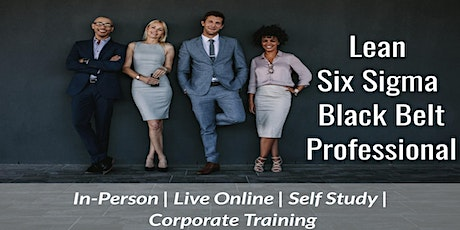 LSS Black Belt 4 Days Certification Training in Palo Alto,CA tickets
