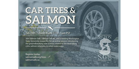 Car Tires & Salmon Health: Exploring New Research on Stormwater Impacts tickets