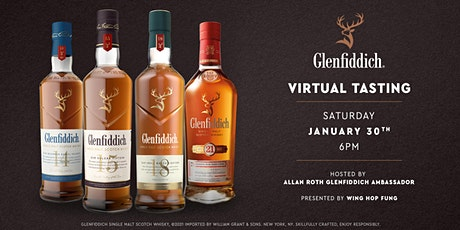Virtual Tasting with The Glenfiddich! tickets