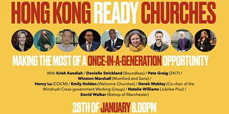 Hong Kong Ready - a once in a generation opportunity for the church tickets