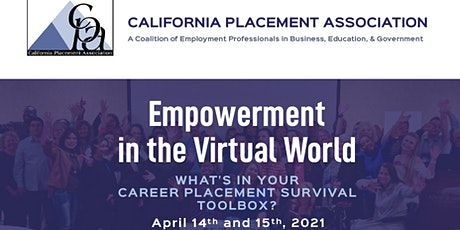 California Placement Association's Annual State Virtual Conference tickets