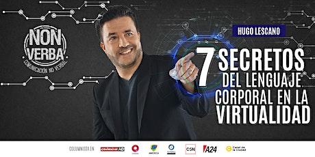 PERSUASIÓN VIRTUAL: Los 7 secretos del lenguaje corporal en la virtualidad boletos