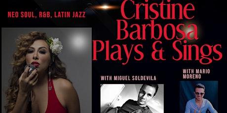 "6th ""Fair Fridays"" Virtual Concert featuring Cristine Barbosa tickets"
