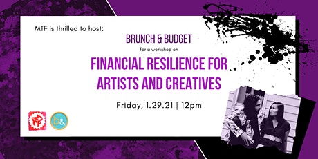 Financial Resilience for Artists and Creatives tickets