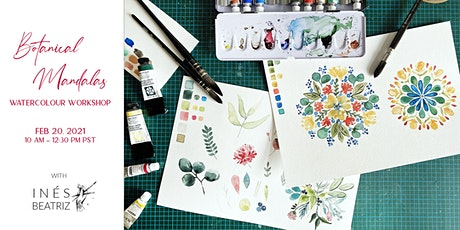 Botanical Watercolour Mandala Workshop tickets
