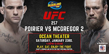 McGregor vs Poirier 2: Dezerland Park Miami tickets