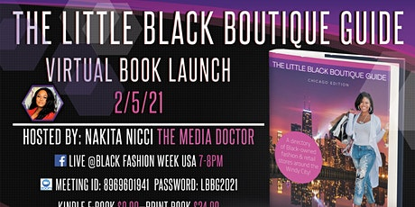 Little Black Boutique Guide  Virtual Book Launch Event tickets