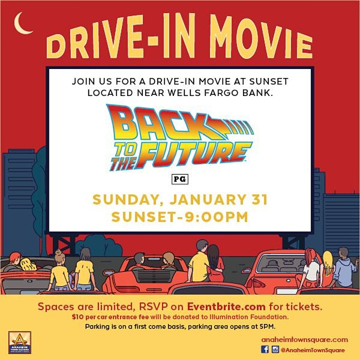 Drive-In Movie Featuring Back to the Future image