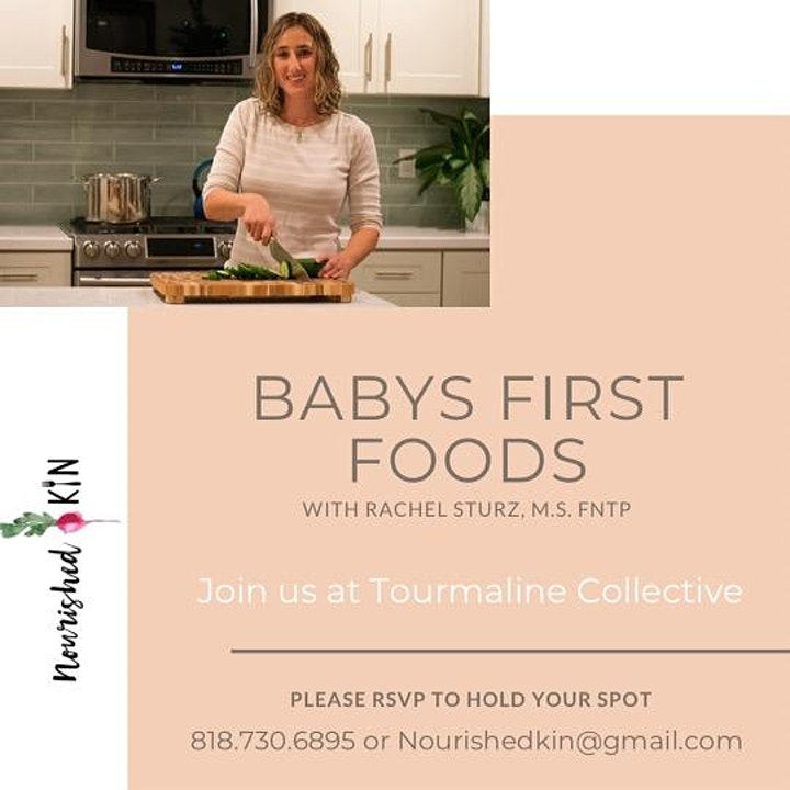 Baby's First Foods image