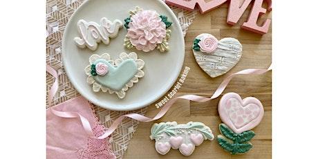 Valentine's Adult Intermediate Cookie Decorating Class tickets